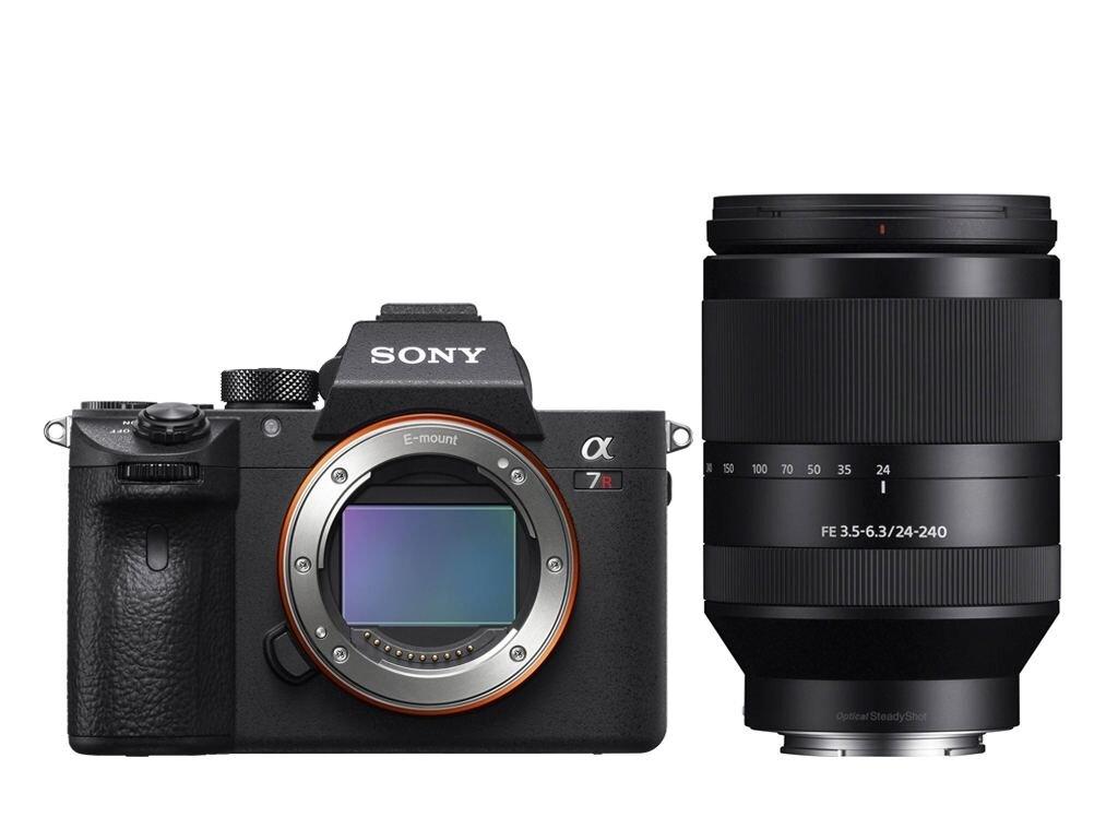 Sony alpha 7R III (ILCE7RM3B) inkl. SEL FE 24-240 mm 1:3,5-6,3 OSS (SEL24240)
