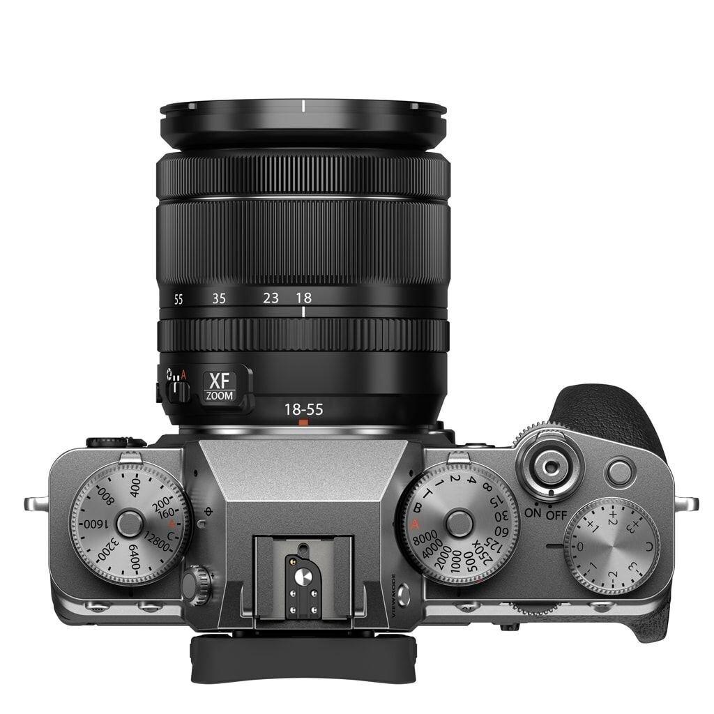 Fujifilm X-T4 silber inkl. XF 18-55mm 1:2,8-4,0 R LM OIS + VG-XT4 Batteriehandgriff