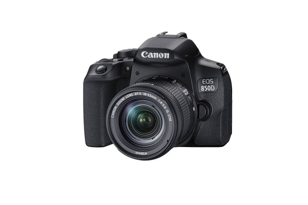 Canon EOS 850D + EF-S 18-55mm 1:4-5,6 IS STM + EF-S 55-250mm 1:4,0-5,6 IS STM