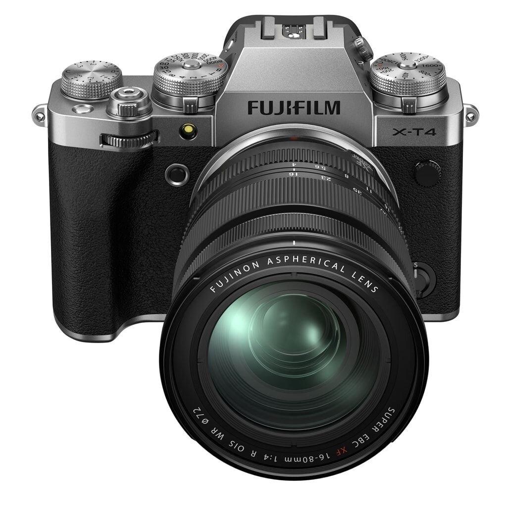 Fujifilm X-T4 silber inkl. XF 16-80mm 1:4 R OIS WR