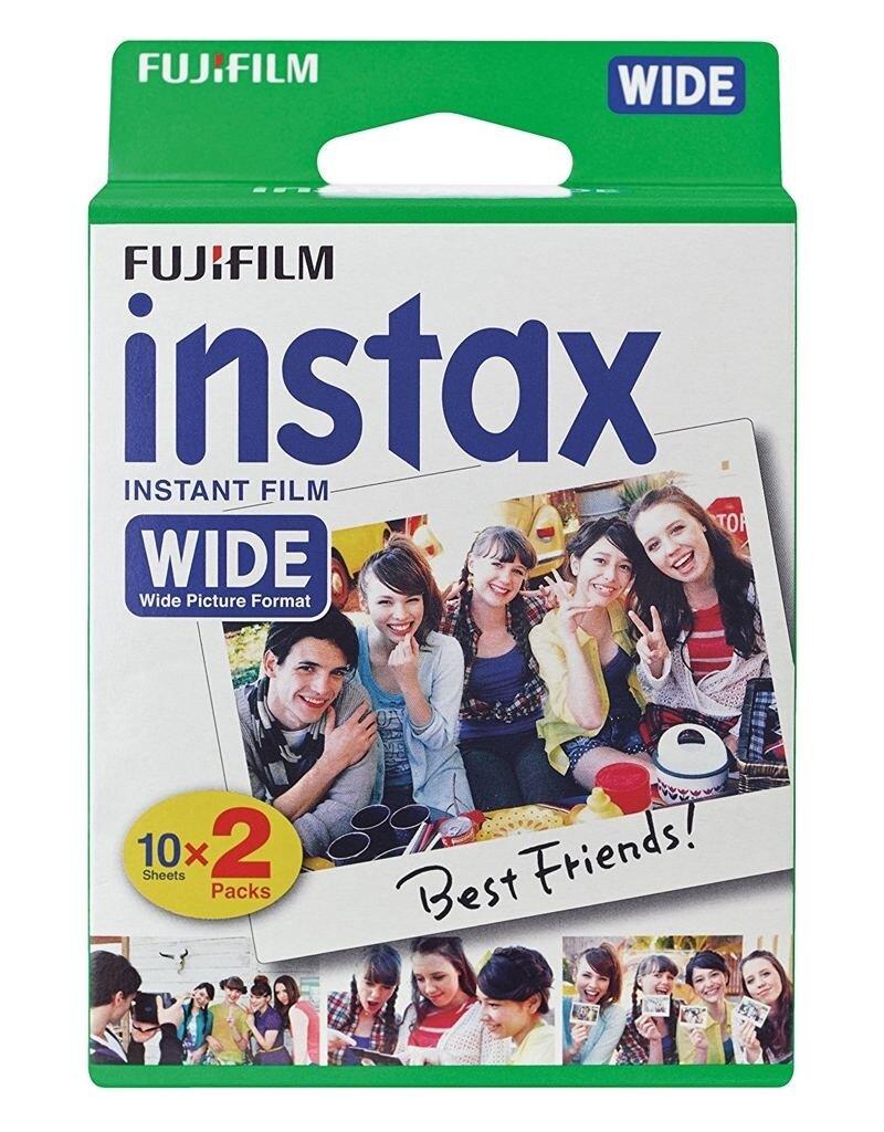 Fujifilm Instax Wide Sofortbildfilm für 20 Aufnahmen