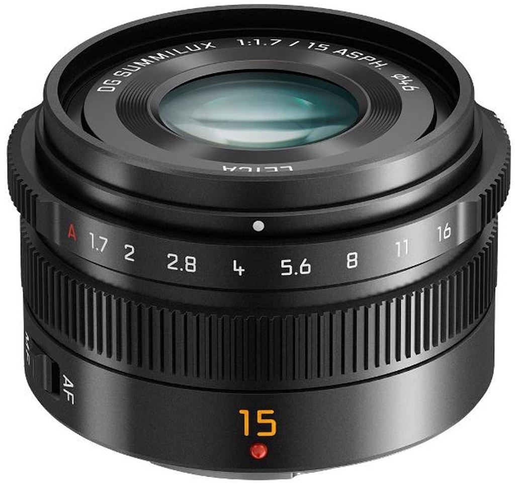 Panasonic 15mm 1:1,7 Leica DG Summilux ASPH schwarz