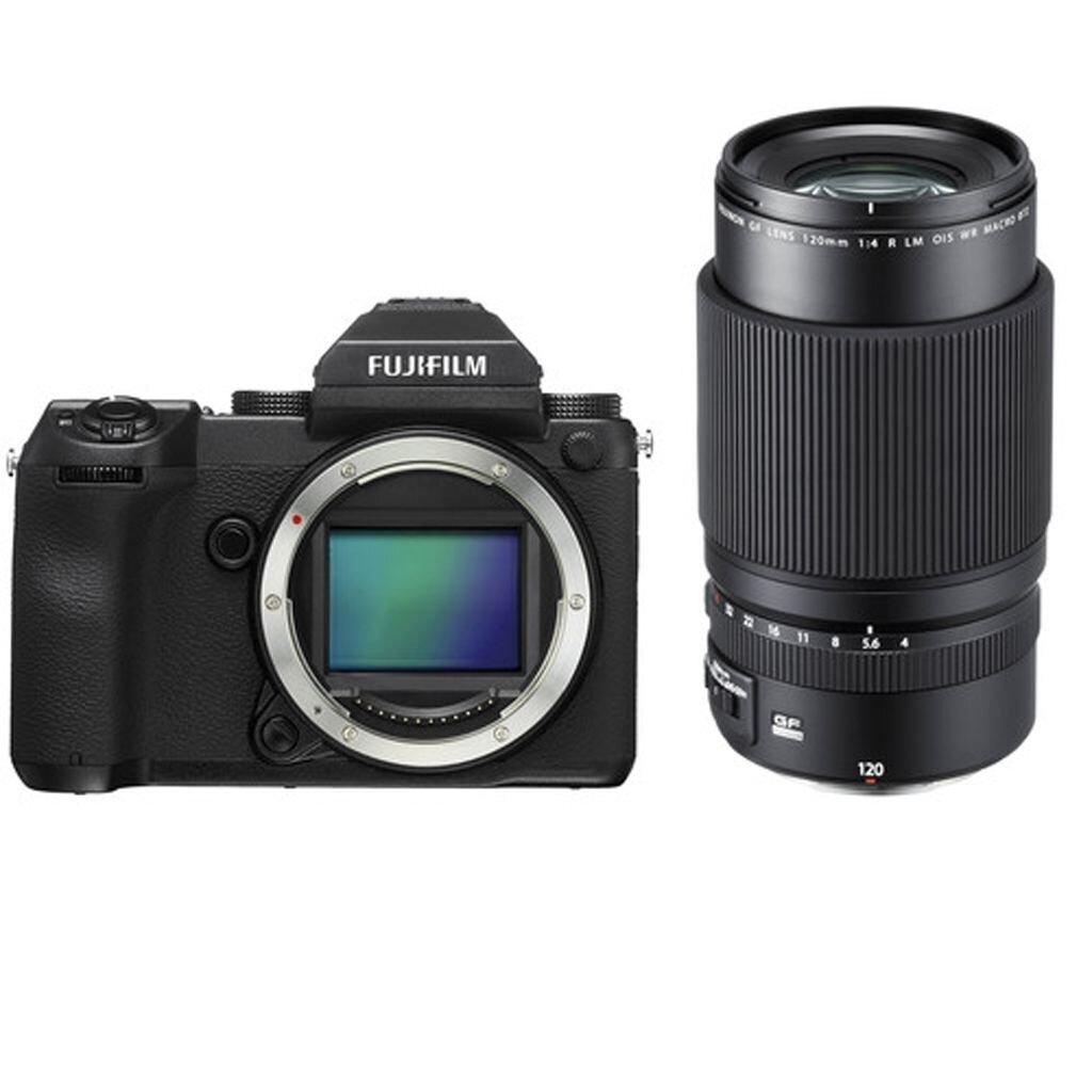 Fujifilm GFX 50S + GF 120 mm 1:4 R LM OIS WR Macro