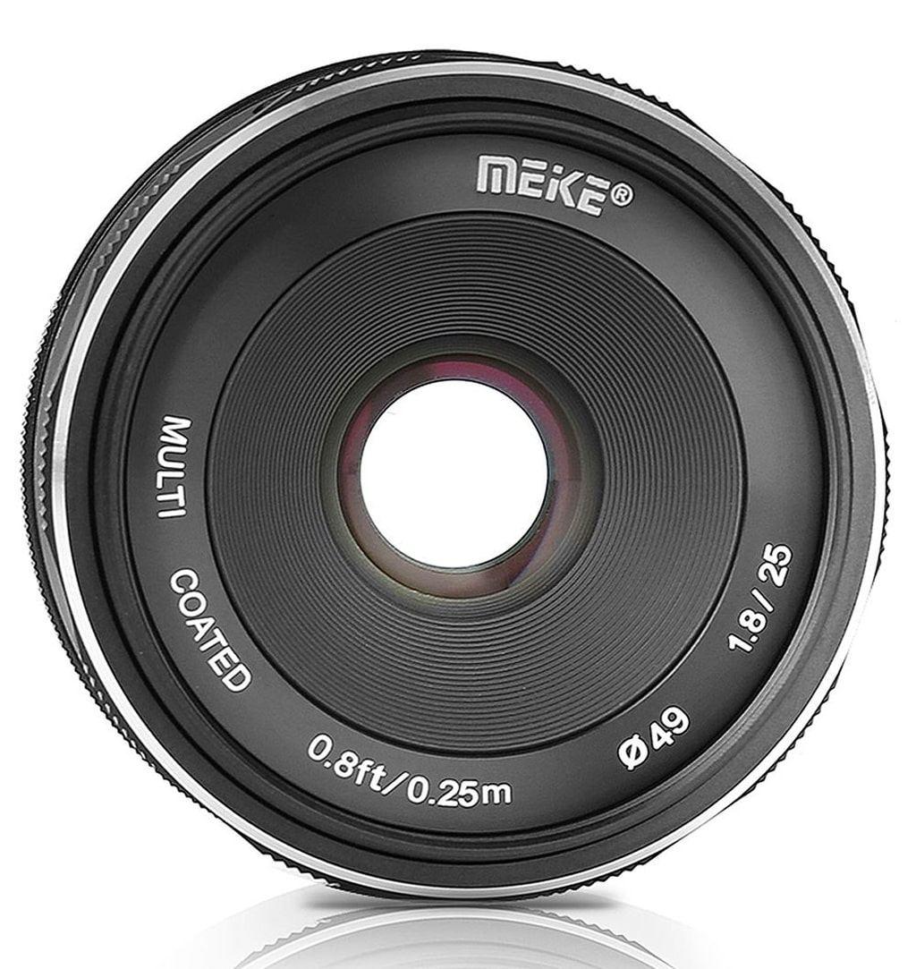 Meike 25mm 1:1,8 für Sony E
