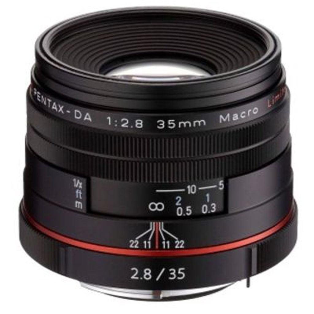 Pentax DA 35mm 1:2,8 HD Macro Limited black
