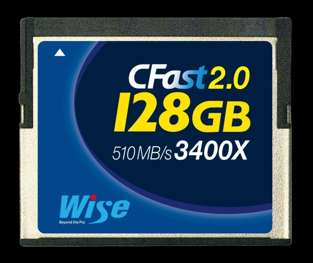 Wise CFast 2.0 Card 3400X Blue 128GB