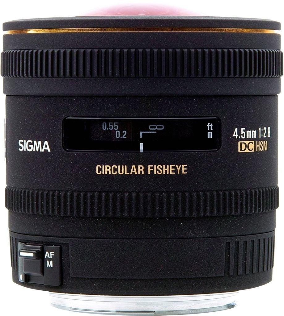 Sigma 4,5mm 1:2,8 EX DC HSM Zirkular-Fisheye für Sony A-Mount
