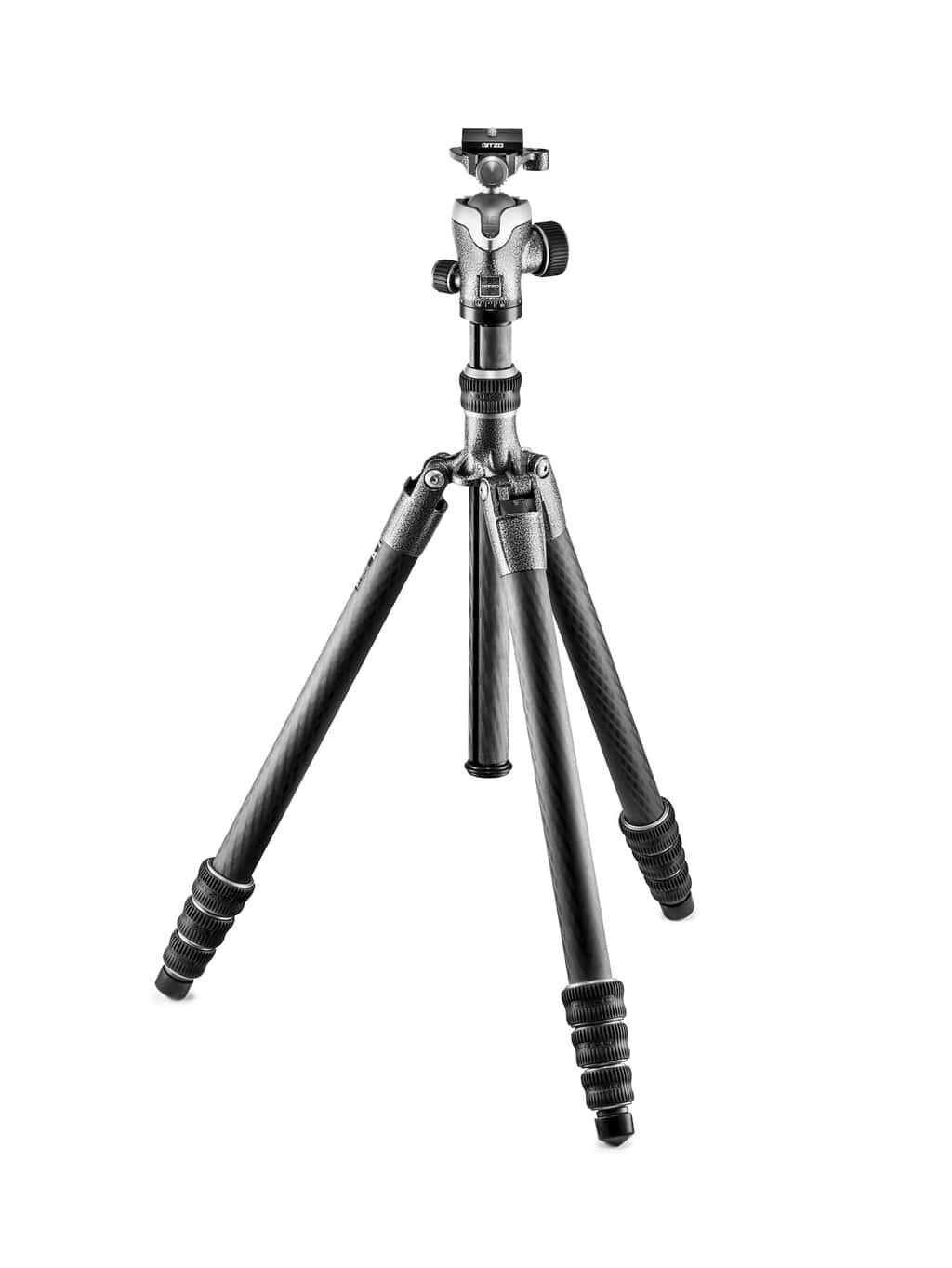 Gitzo GK2545T-82QD Traveler Stativ Kit, Serie 2, 4 Beinsegmente