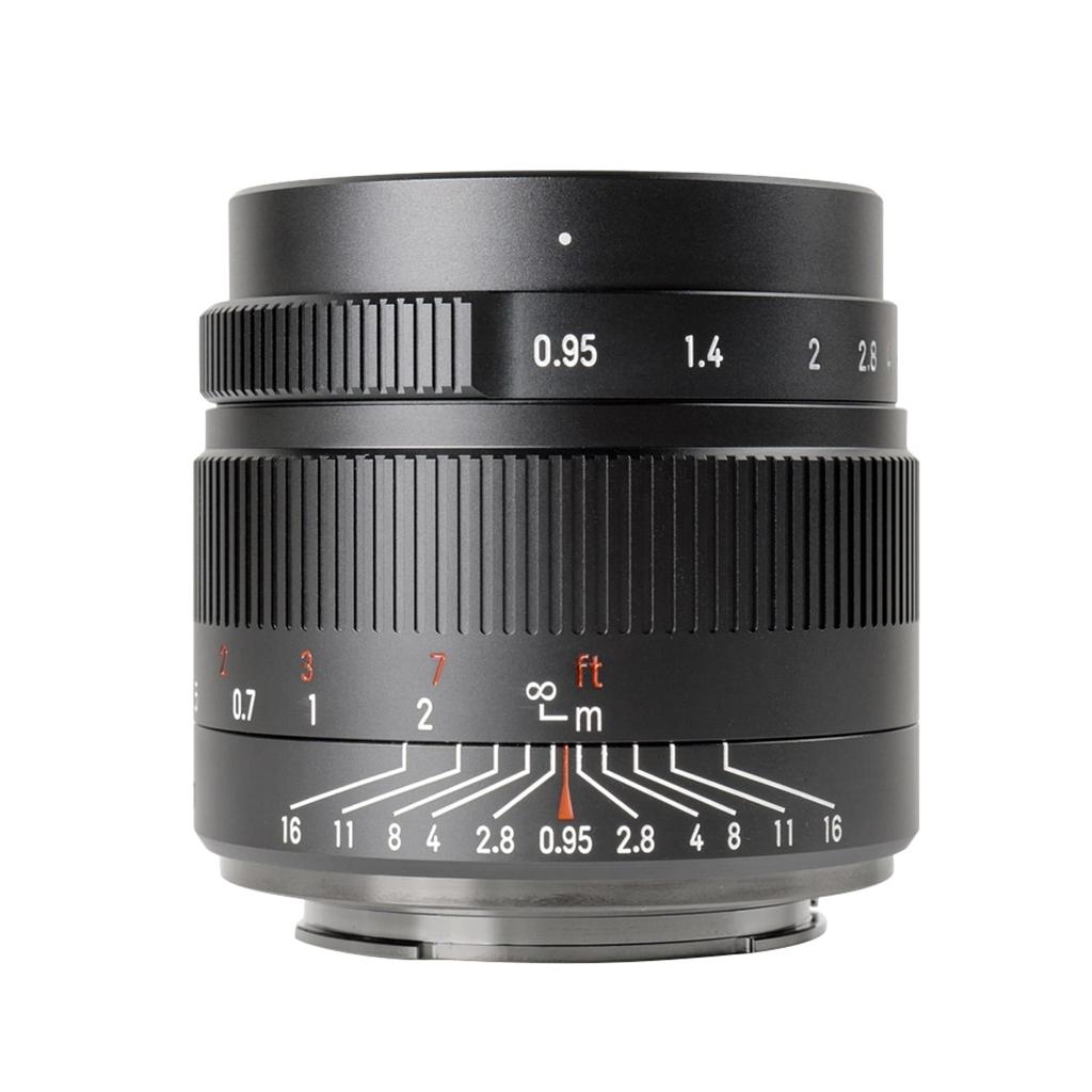 7Artisans 35mm 1:0,95 für Sony E schwarz