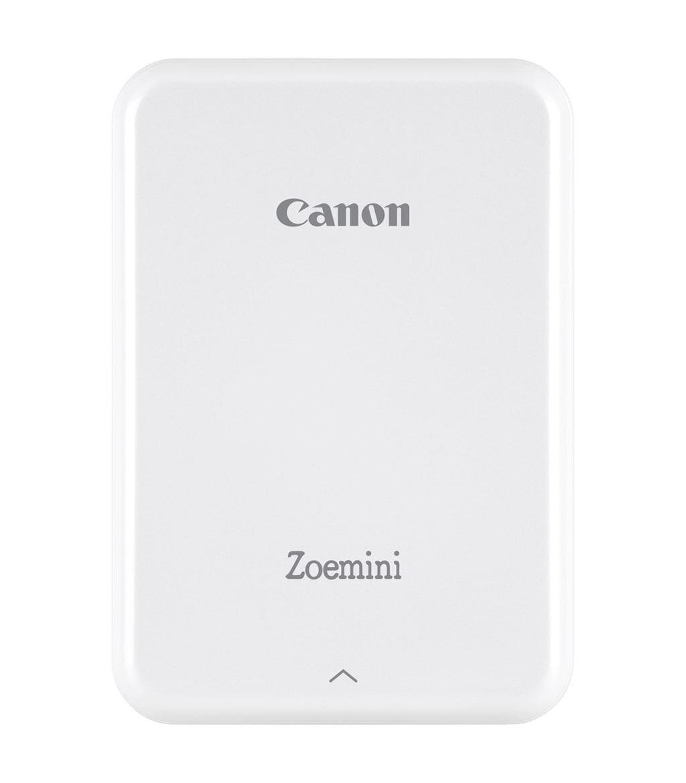 Canon Zoemini weiß mobiler Zink Fotodrucker