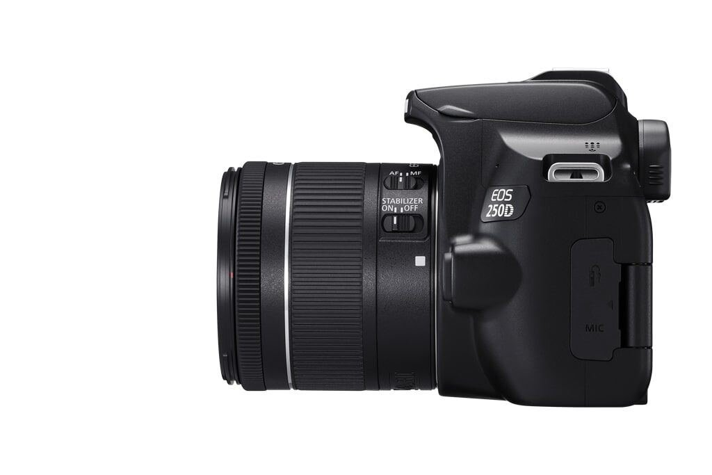 Canon EOS 250D inkl. EF-S 18-55mm 1:4-5,6 IS STM