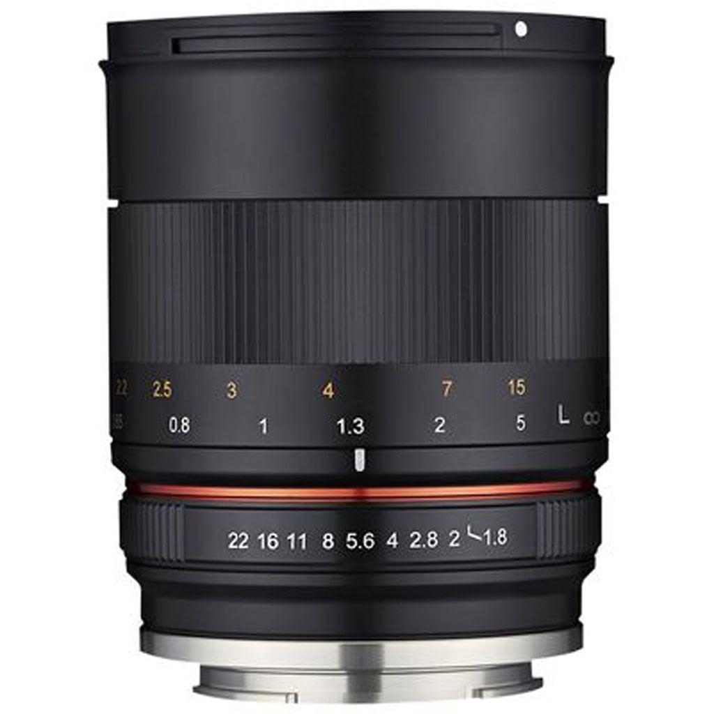 Samyang MF 85mm 1:1,8 ED UMC CS für MFT black