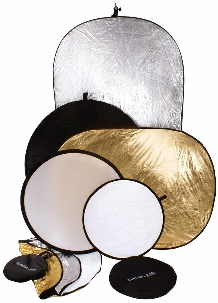 Helios Faltreflektor 5in1 92x122cm