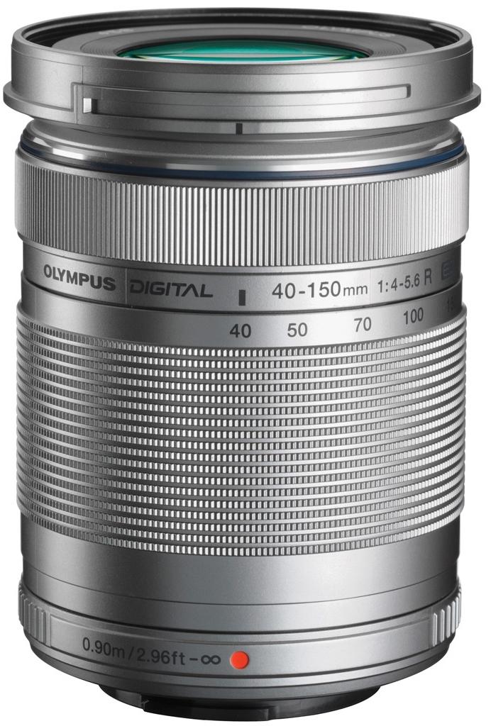 Olympus M. Zuiko 40-150 mm 1:4,0-5,6R silber