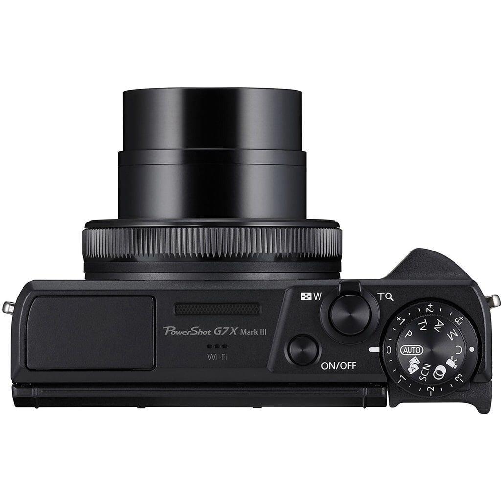 Canon PowerShot G7X Mark III schwarz Battery Kit + Zusatzakku
