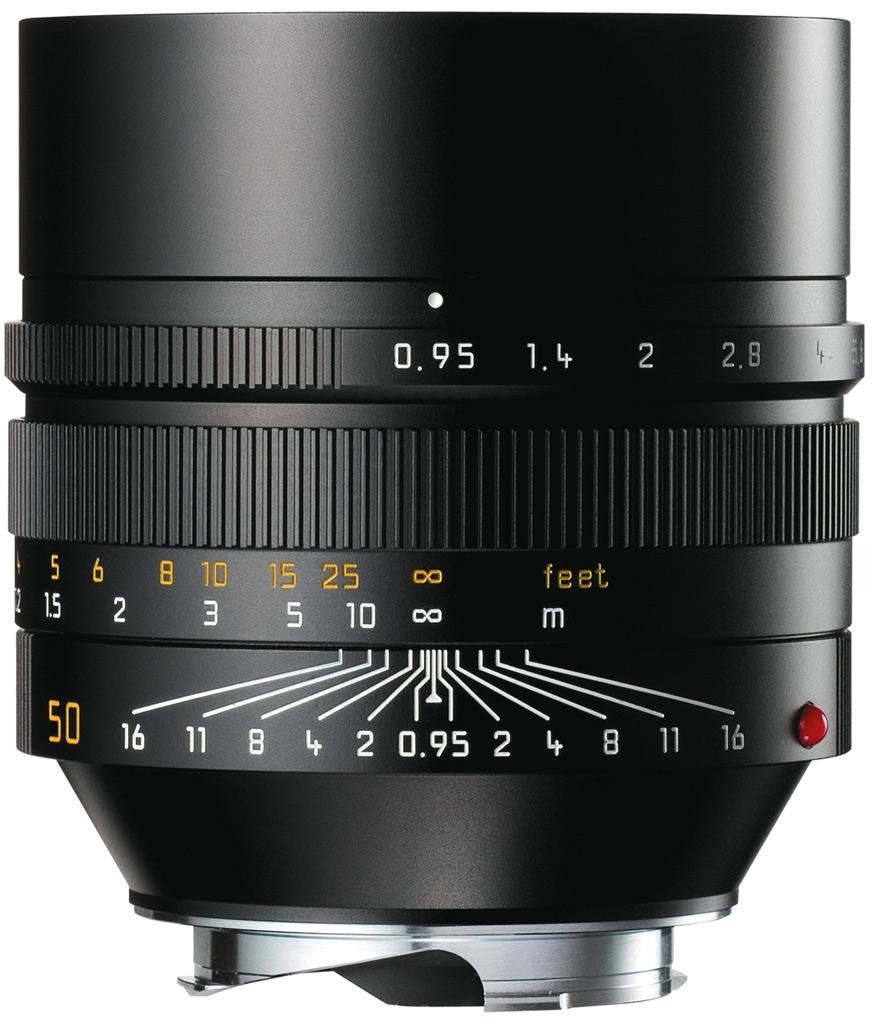 LEICA NOCTILUX-M 0.95/50 mm ASPH., schwarz eloxiert 11602