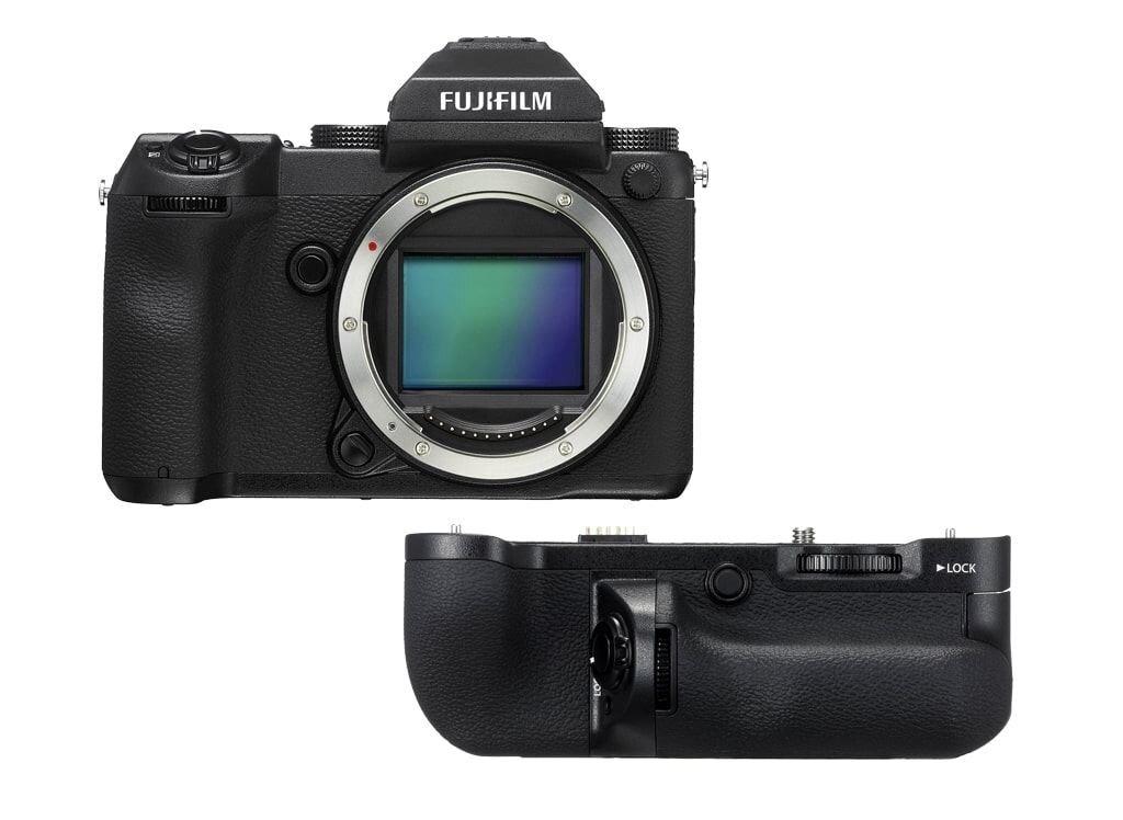 Fujifilm GFX 50S + Batteriegriff VG-GFX1