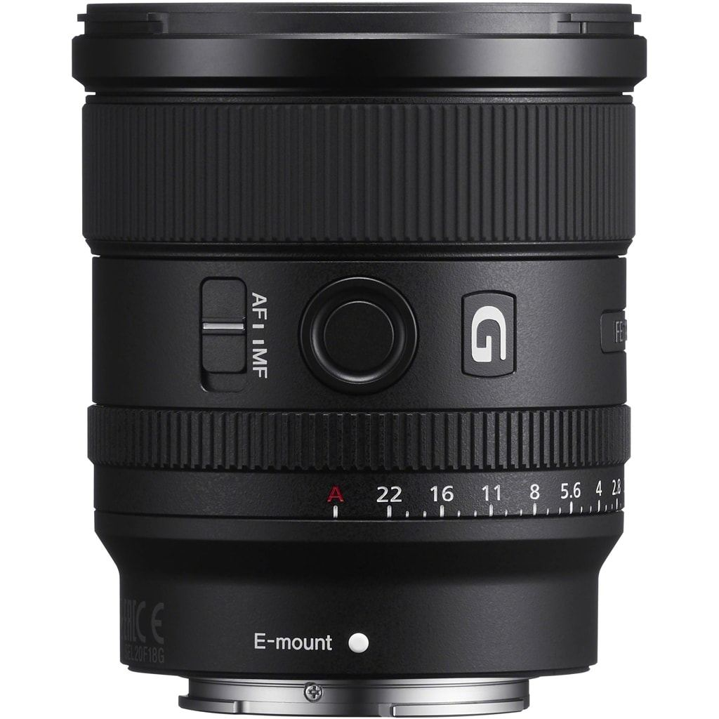 Sony SEL FE 20mm 1:1,8 (SEL20F18G) E-Mount