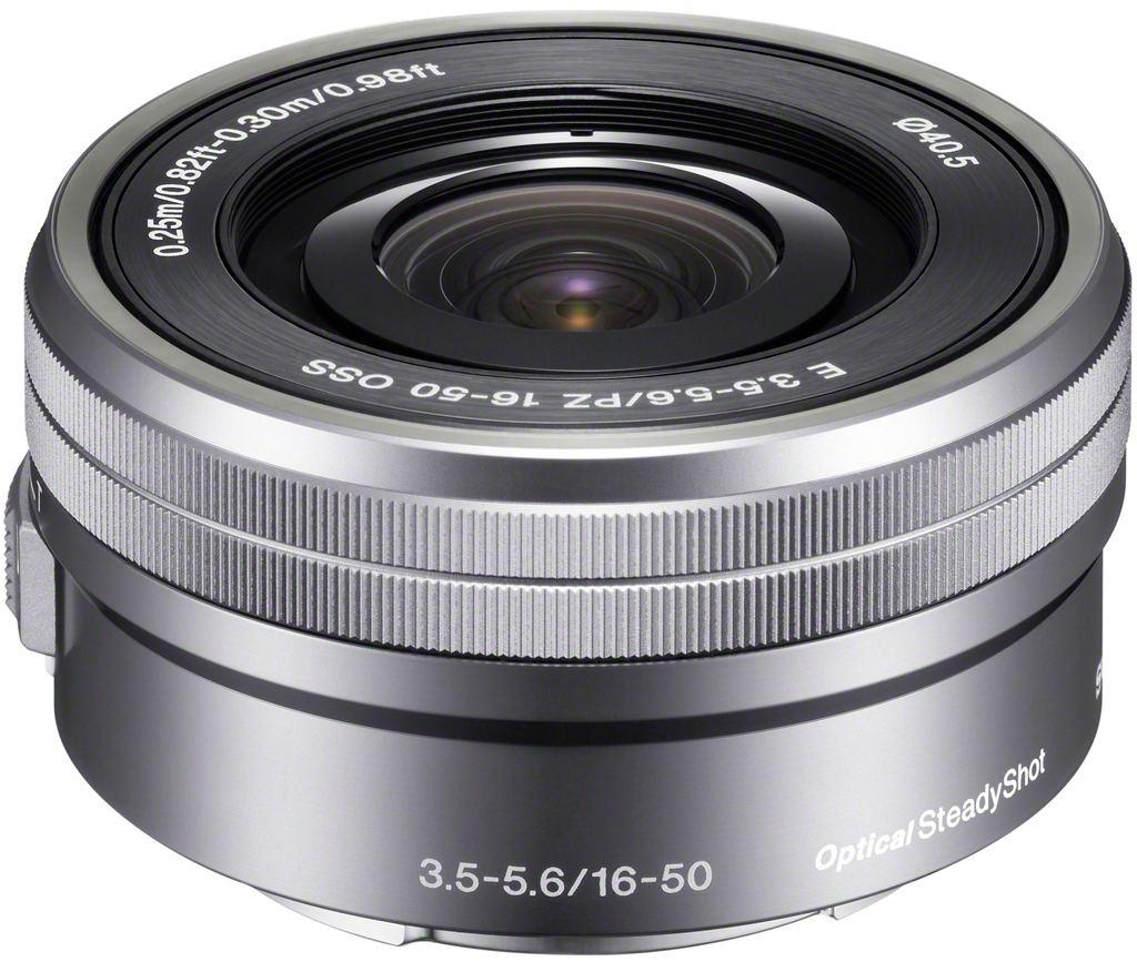 Sony SEL-P 16-50mm 1:3,5-5,6 OSS PZ (SELP1650) E-Mount silber