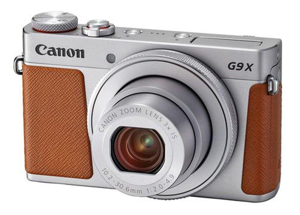 Canon PowerShot G9X Mark II silber