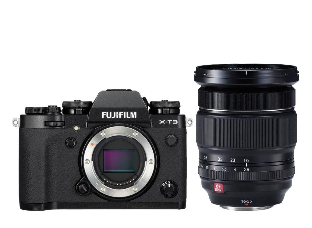 Fujifilm X-T3 schwarz inkl. XF 16-55mm 1:2,8 R LM WR