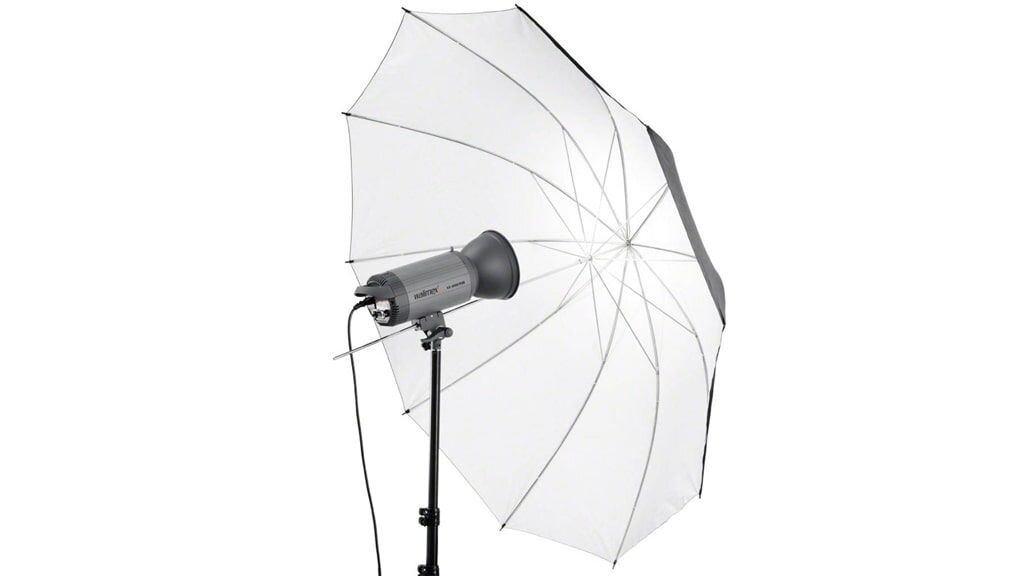 Walimex Pro Reflexschirm schwarz/weiß 150cm