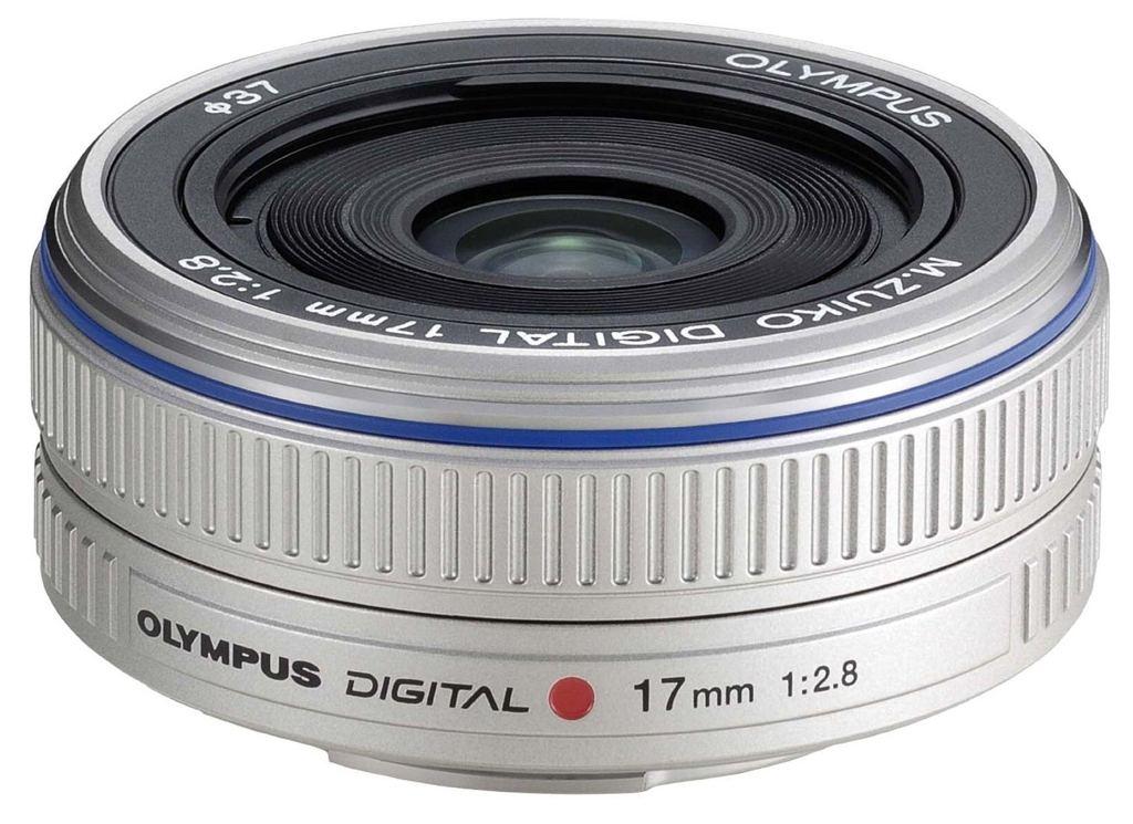 Olympus M. Zuiko Dig. 17mm 1:2,8 MFT silber