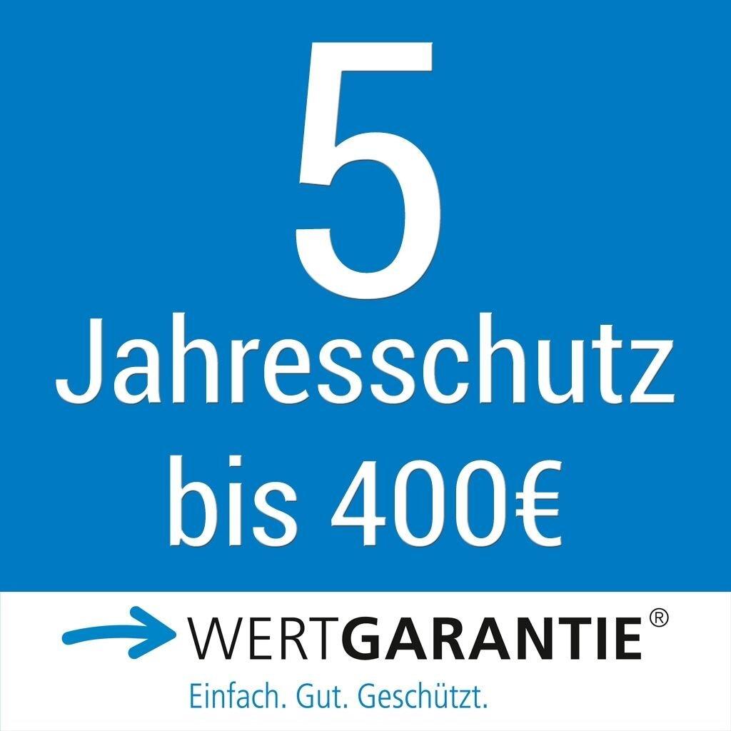 Wertgarantie 5 Jahresschutz bis 400,- Euro