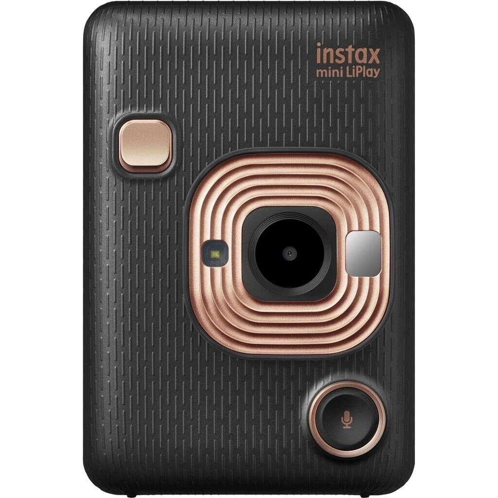Fujifilm Sofortbildkamera Instax Mini Liplay Dark Gray