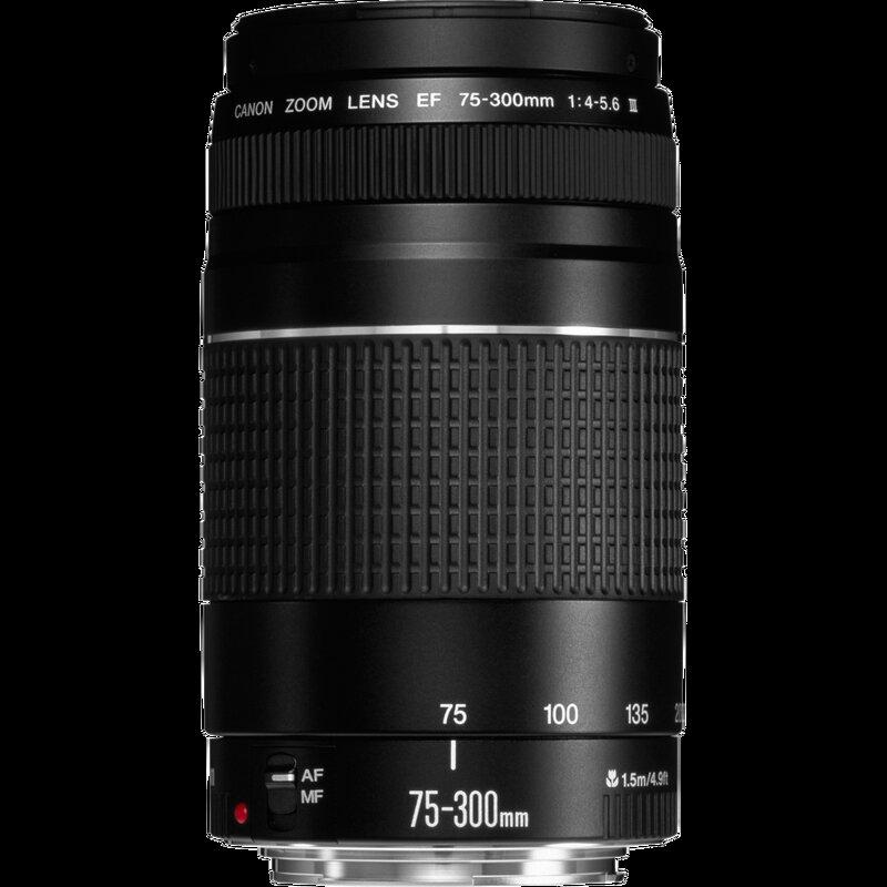 Canon EF 75-300mm 1:4-5,6 III