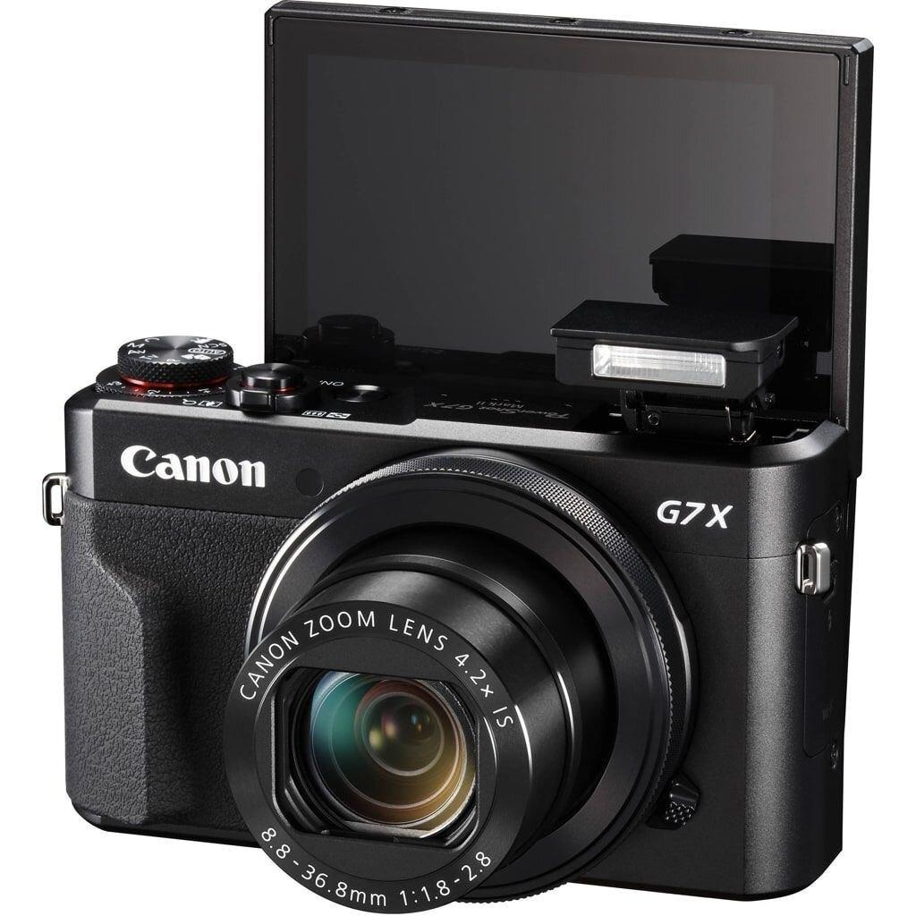 Canon PowerShot G7X Mark II Premium Kit inkl. DCC-1880 Tasche und 8GB SD Speicherkarte