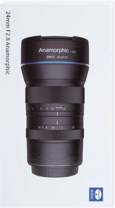 SIRUI SR24-Z 24mmf2.8 1.33X anmorphes Objektiv (Z Mount)