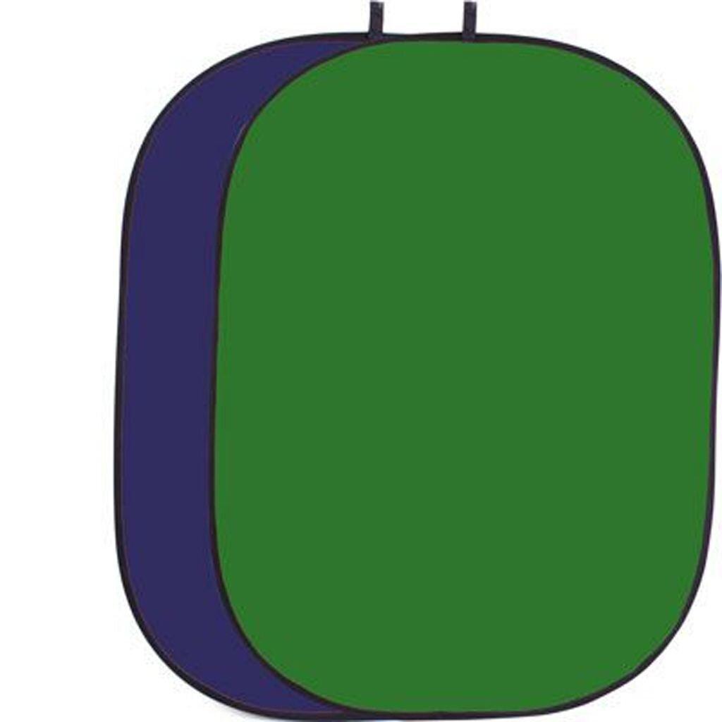B.I.G. Helios Falthintergrund 150x200cm grün/blau