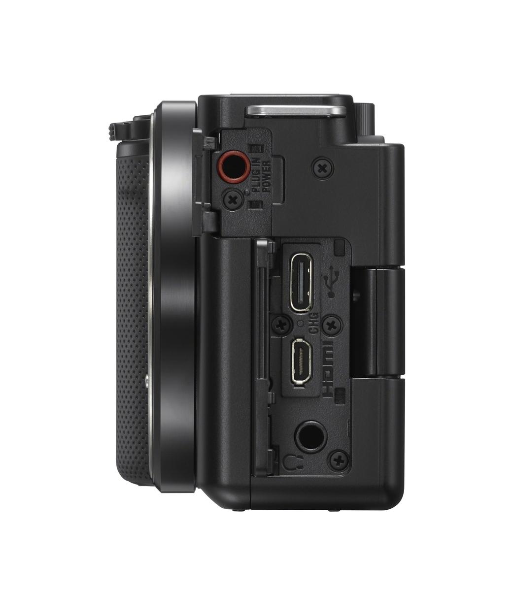 Sony Alpha ZV-E10 Gehäuse schwarz inkl. SanDisk 128 GB SDXC ExtremePro 170MB/s V30 UHS-I U3 Speicherkarte