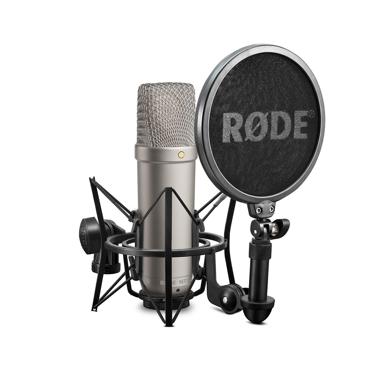 Rode NT1-A Complete Vocal Recording Sol. Kondensatormikrofon-Komplettset
