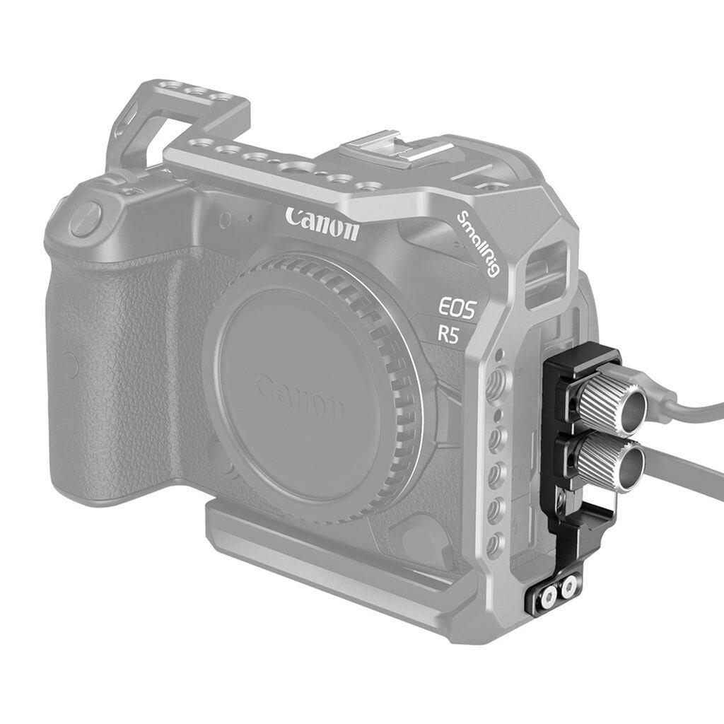 SmallRig 2981 HDMI- und USB-C-Kabelklemme für Canon EOS R5 / EOS R6