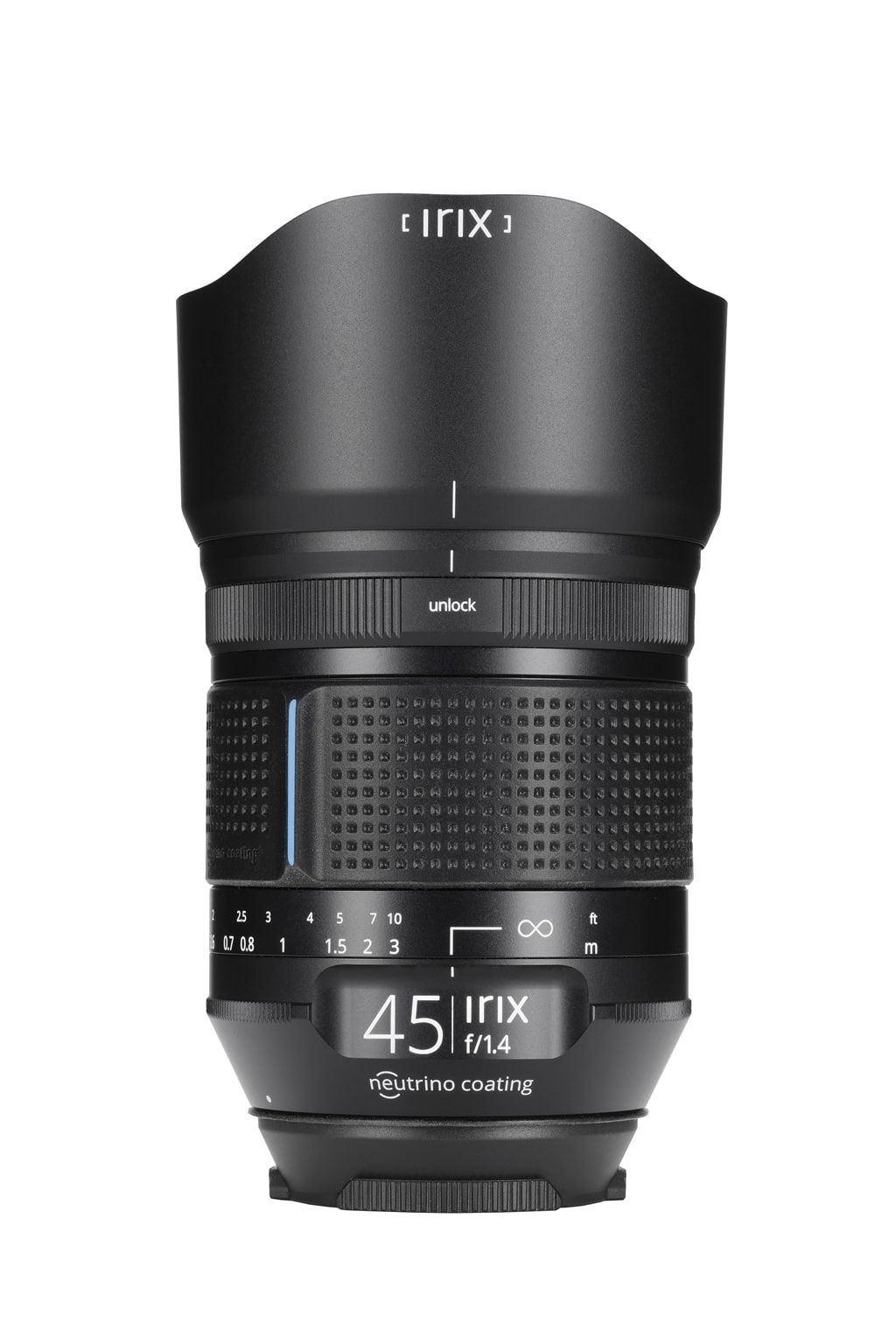 Irix Dragonfly 45mm 1:1,4 für Nikon F