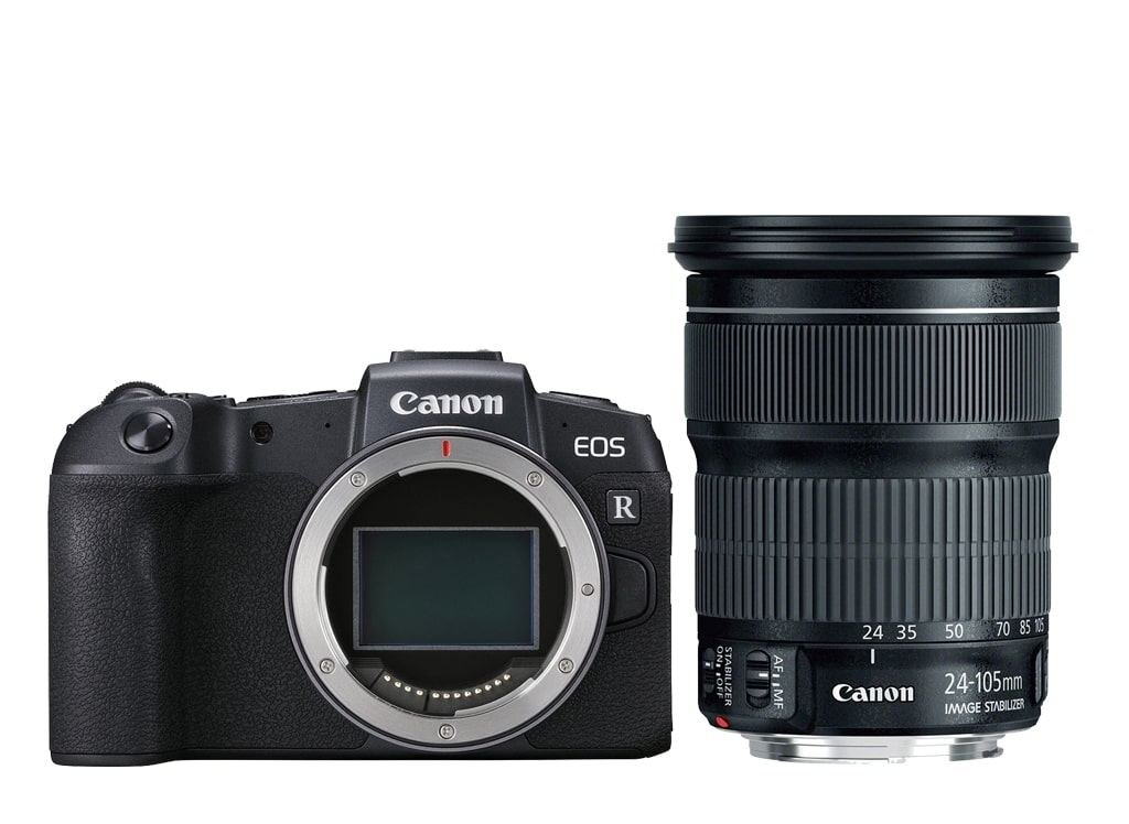 Canon EOS RP + EF 24-105mm 1:3,5-5,6 IS STM + Mount Adapter EF-EOS R