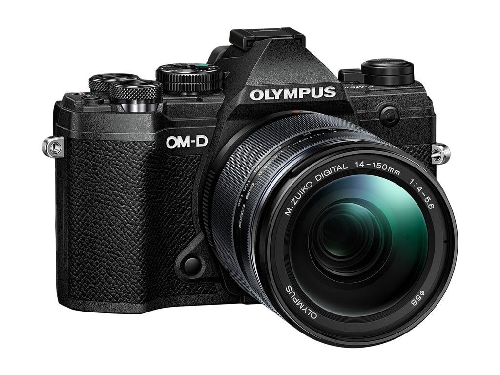 Olympus OM-D E-M5 Mark III schwarz + M.Zuiko Digital ED 14-150mm 1:4,0-5,6 II
