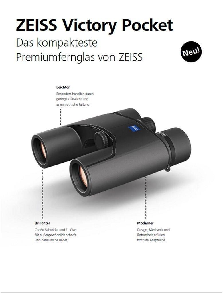 ZEISS Fernglas Victory Pocket 10x25 schwarz