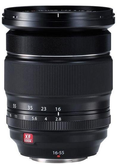 Fujifilm 16-55mm 1:2,8 R LM WR schwarz
