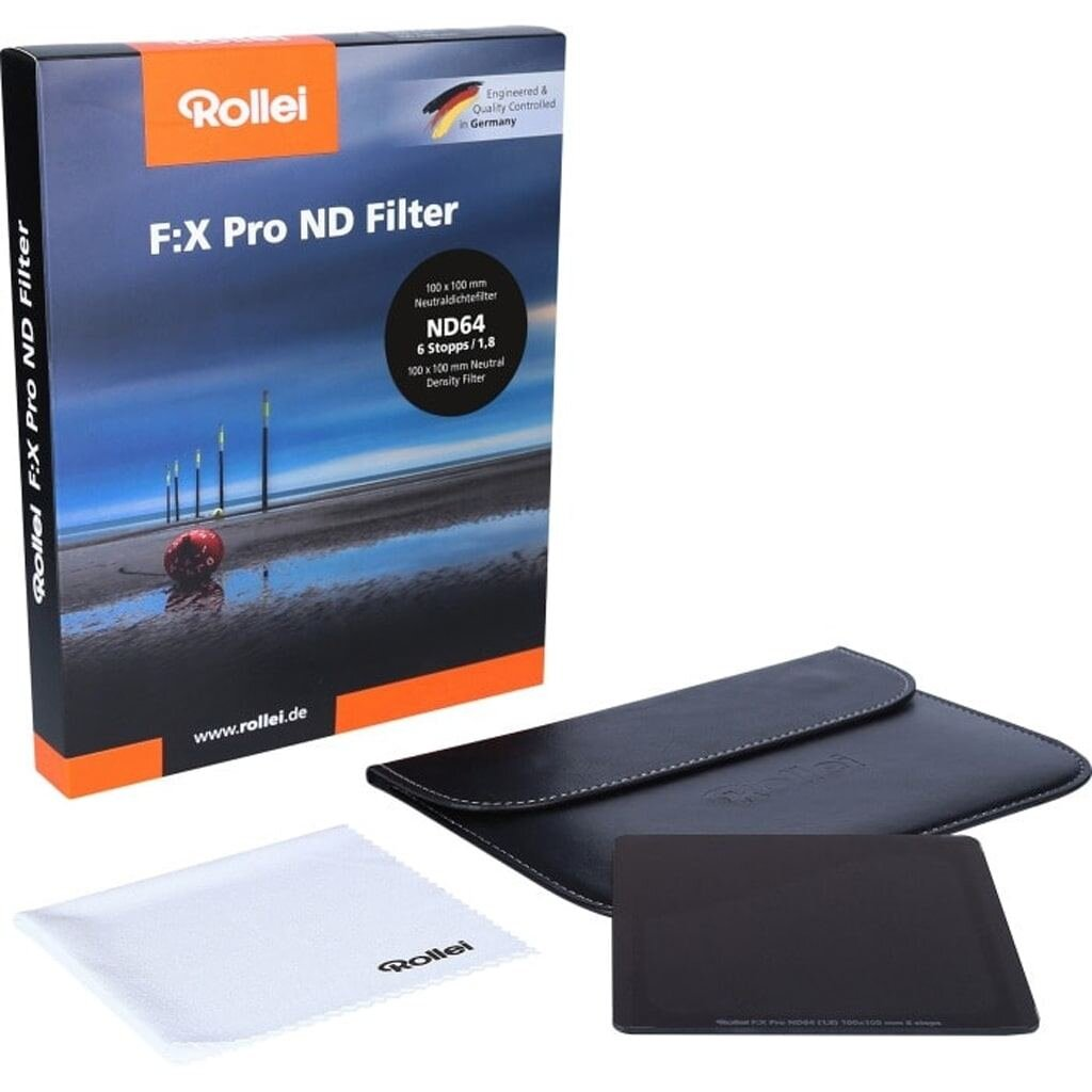 Rollei F:X Pro ND64 Graufilter 100mm Rechteckfilter