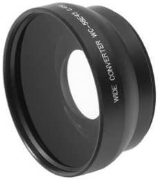 Delamax 0.45x Weitwinkel-Vorsatzlinse 58mm schwarz