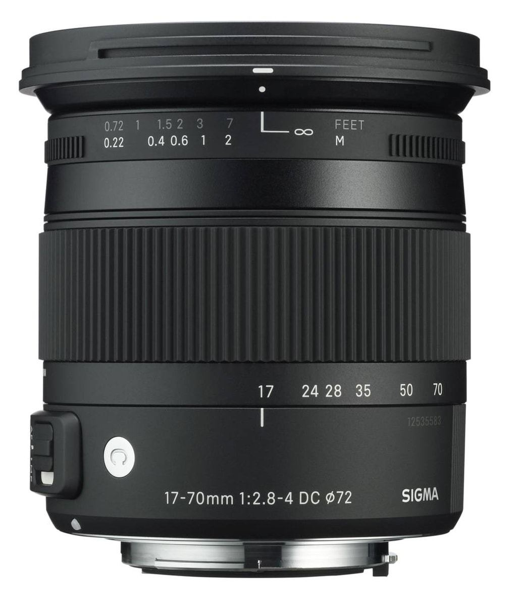 Sigma 17-70mm 1:2,8-4,0 DC Macro OS HSM Contemporary für Nikon