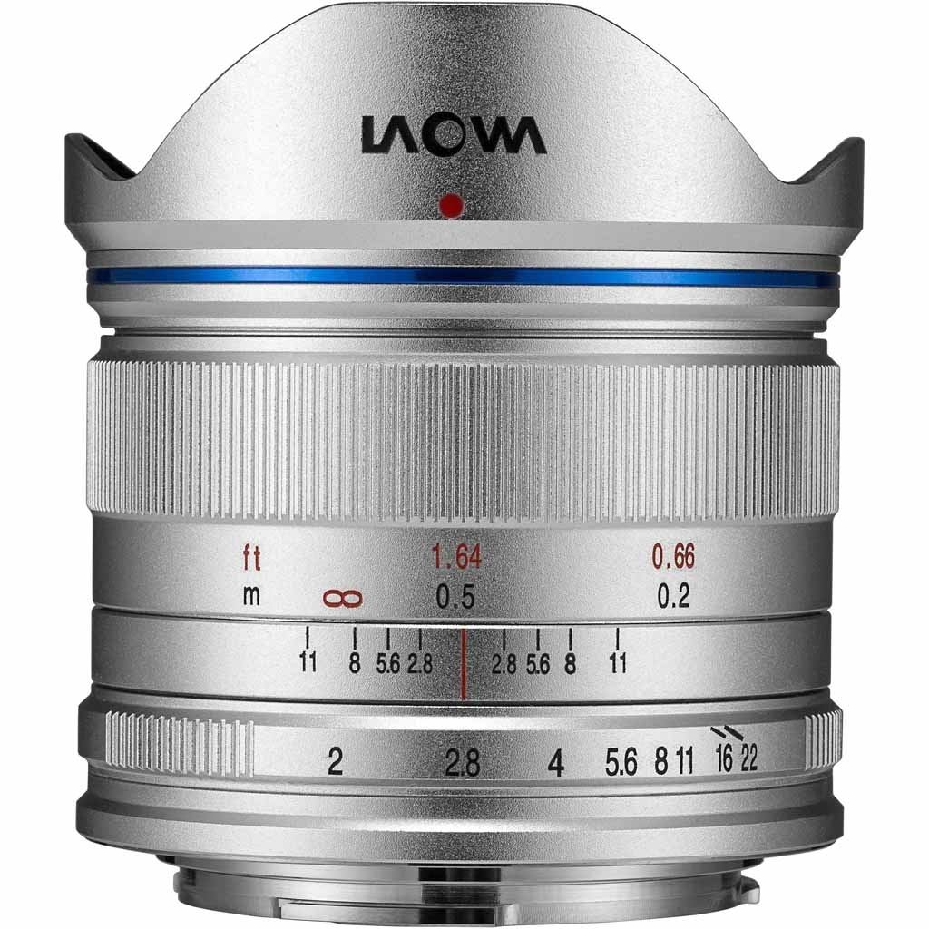 LAOWA 7,5mm 1.2,0 für MFT silber