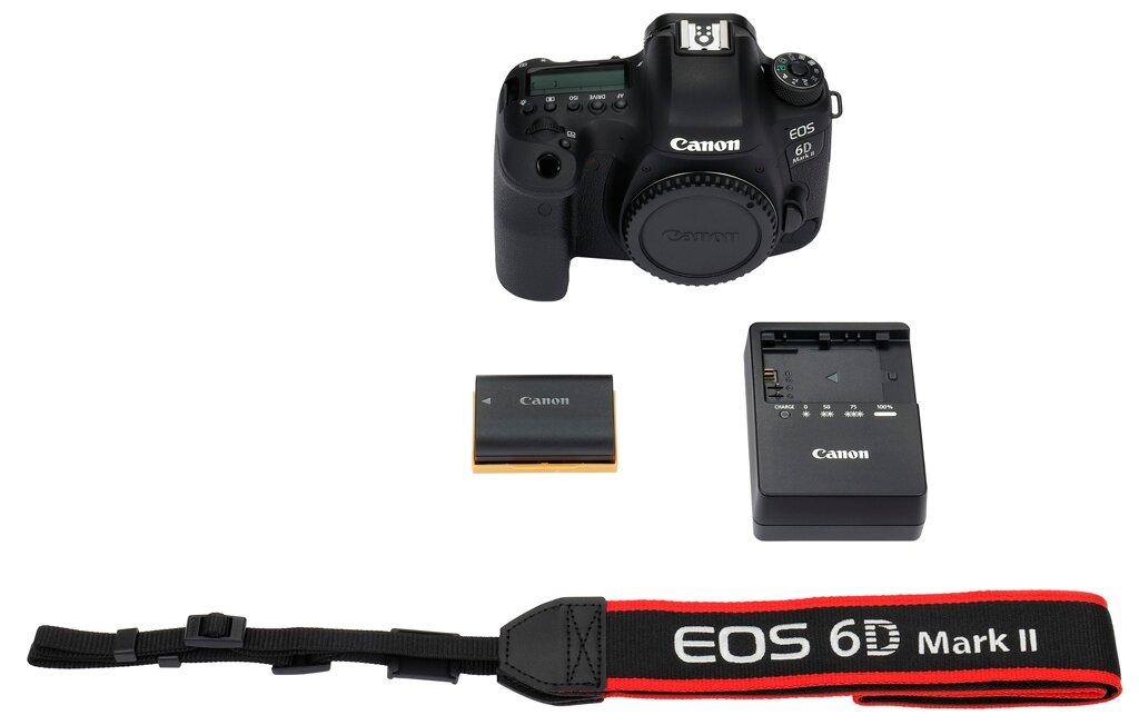 Canon EOS 6D Mark II + EF 24-105mm 1:4 L IS II USM + EOS Plus X 140€ Sparvorteil
