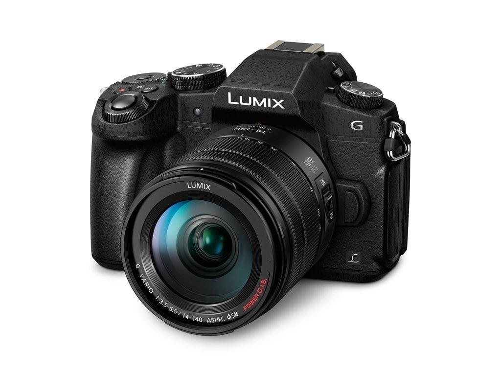 Panasonic LUMIX DMC-G81 inkl. 14-140mm 1:3,5-5,6 II G Vario Power O.I.S.