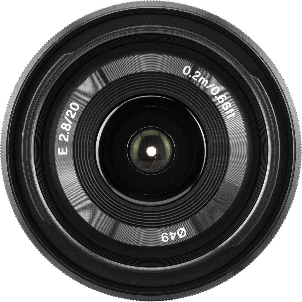 Sony SEL 20mm 1:2,8 (SEL20F28) E-Mount