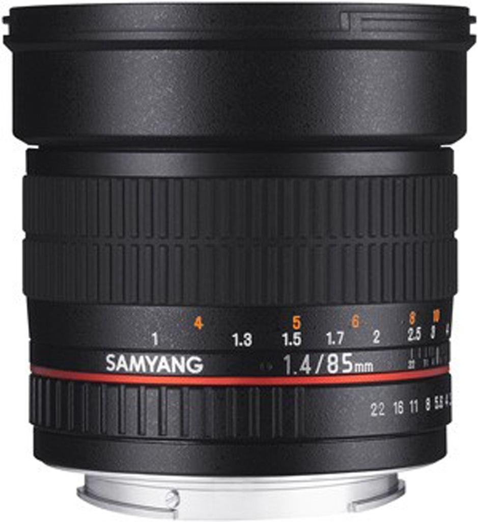 Samyang 85mm 1:1,4 für Nikon