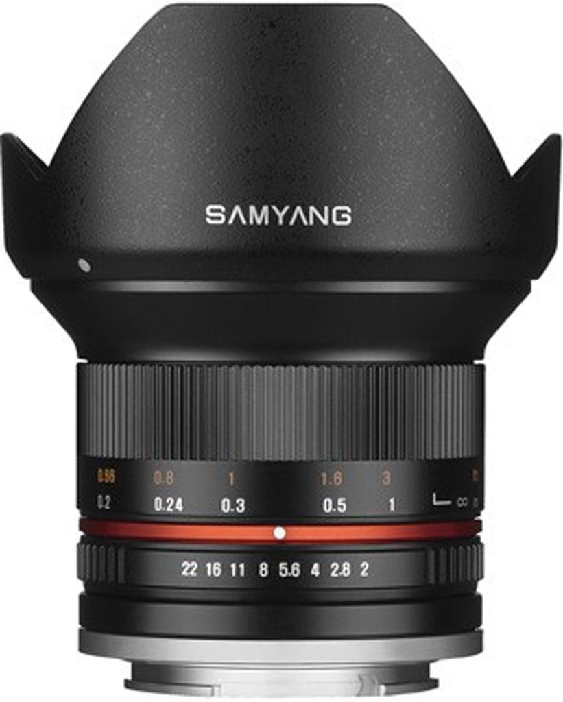 Samyang 12mm 1:2,0 NCS CS Sony E-Mount schwarz
